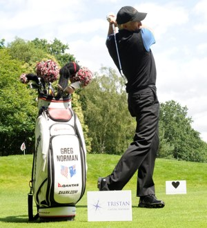 Greg Norman Hosts Tristan Capital Partners Golf Day