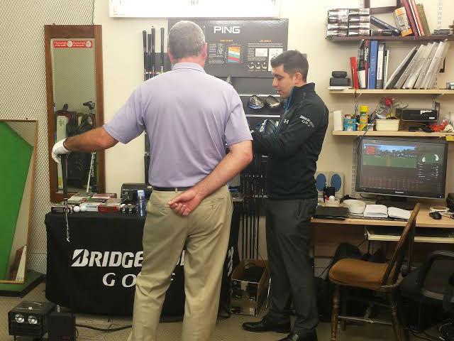 Feature the bridgestone ball fitting experience