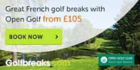 Discover great golf with Open Golf venues