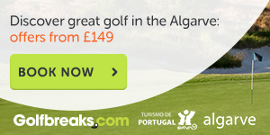 Discover great golf in the Algarve