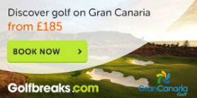 Discover great golf in the Gran Canaria